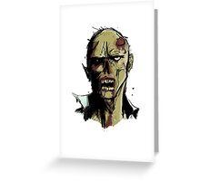 Zombi Zombi Greeting Card