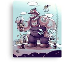 BIG MARIO Canvas Print