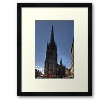 The top of the High Street Framed Print