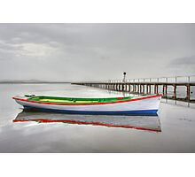 Long Jetty boat Photographic Print