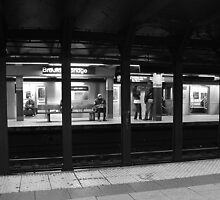 Subway Patrons by Stephen Burke