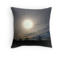 It Looks Like Snow. Throw Pillow