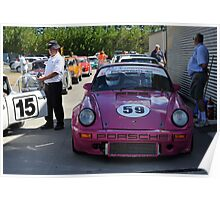 Porsche 911 Ready To Race Poster