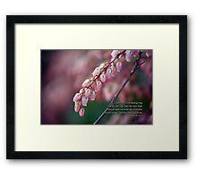 Offer unto God thanksgiving Framed Print