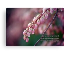 Offer unto God thanksgiving Canvas Print