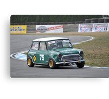 Racing Mini Canvas Print