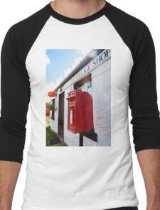 Glendale Dunvegan Post Office Men's Baseball ¾ T-Shirt