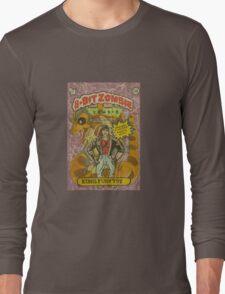 Kung fury 8bit zombie Long Sleeve T-Shirt