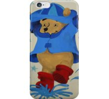 Splashing Winnie The Pooh iPhone Case/Skin