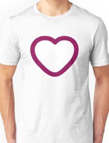 Big Love Heart - Art deco T-shirt Unisex T-Shirt