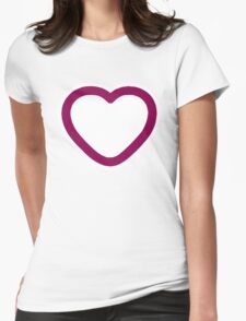 Big Love Heart - Art deco T-shirt T-Shirt