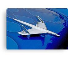 Blue Flame Hawk Canvas Print