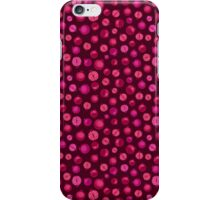 Red Pomegranate Pattern iPhone Case/Skin
