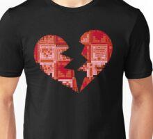 Broken puzzle heart T-shirt Unisex T-Shirt