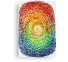 Colour Illusion Blast Canvas Print