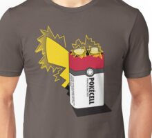 Pokecell Pikachu Battery Unisex T-Shirt