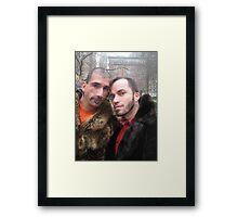 Boys with class! Framed Print