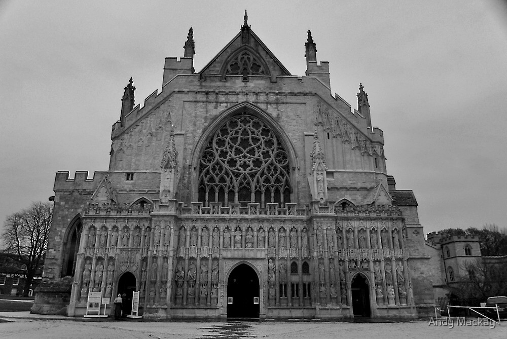 Moody Cathedral by Andy Mackay