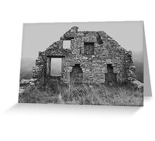 "Gable ""End"" Greeting Card"