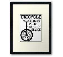 Mobile Device Bold Framed Print