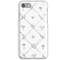 Gem and Mushroom Geometry iPhone Case/Skin