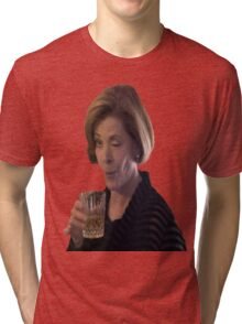 Alcohol is the solution.  Tri-blend T-Shirt