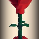 Lego Rose by minifignick