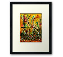 Jubilation I Framed Print