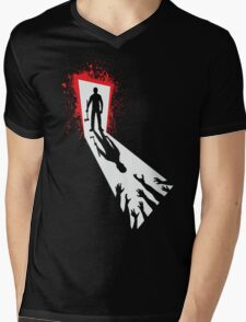 Zombie Killer Mens V-Neck T-Shirt