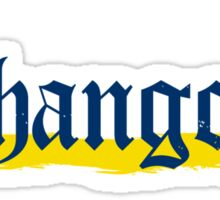 Chango Beer Logo Only Sticker