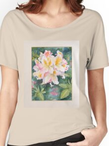 Flower study in waterclour Women's Relaxed Fit T-Shirt