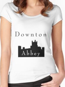 Downton Castle Women's Fitted Scoop T-Shirt
