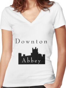 Downton Castle Women's Fitted V-Neck T-Shirt
