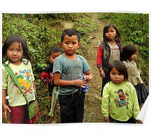 Little Vietnamese kids Poster