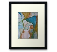Raw Abstract - A Detail Framed Print