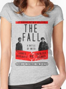 James Moriarty vs. Sherlock Holmes Women's Fitted Scoop T-Shirt
