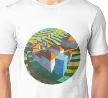 virtual model with blue house  (original sold) Unisex T-Shirt