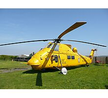 Westland Wessex full view Photographic Print