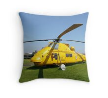 Westland Wessex full view Throw Pillow