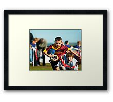 Can't Catch Me Framed Print