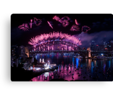 Simply The Best ! - Sydney NYE Fireworks  #8 Canvas Print