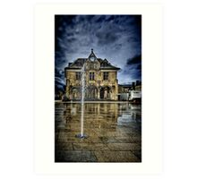 Peterbourgh Guild Hall Art Print