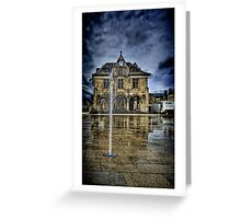 Peterbourgh Guild Hall Greeting Card