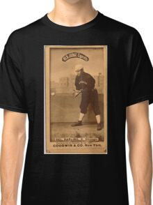 Benjamin K Edwards Collection Dell Darling Chicago White Stockings baseball card portrait 001 Classic T-Shirt