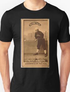 Benjamin K Edwards Collection Dell Darling Chicago White Stockings baseball card portrait 001 Unisex T-Shirt