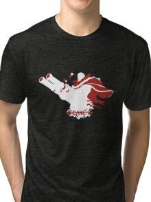 Graves Ink White Tri-blend T-Shirt