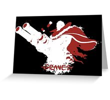 Graves Ink White Greeting Card