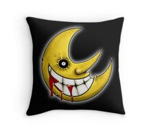 Soul Eater Moon  Throw Pillow