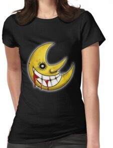 Soul Eater Moon  Womens Fitted T-Shirt