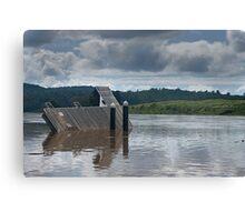 Wingham Brush flood aftermath Canvas Print